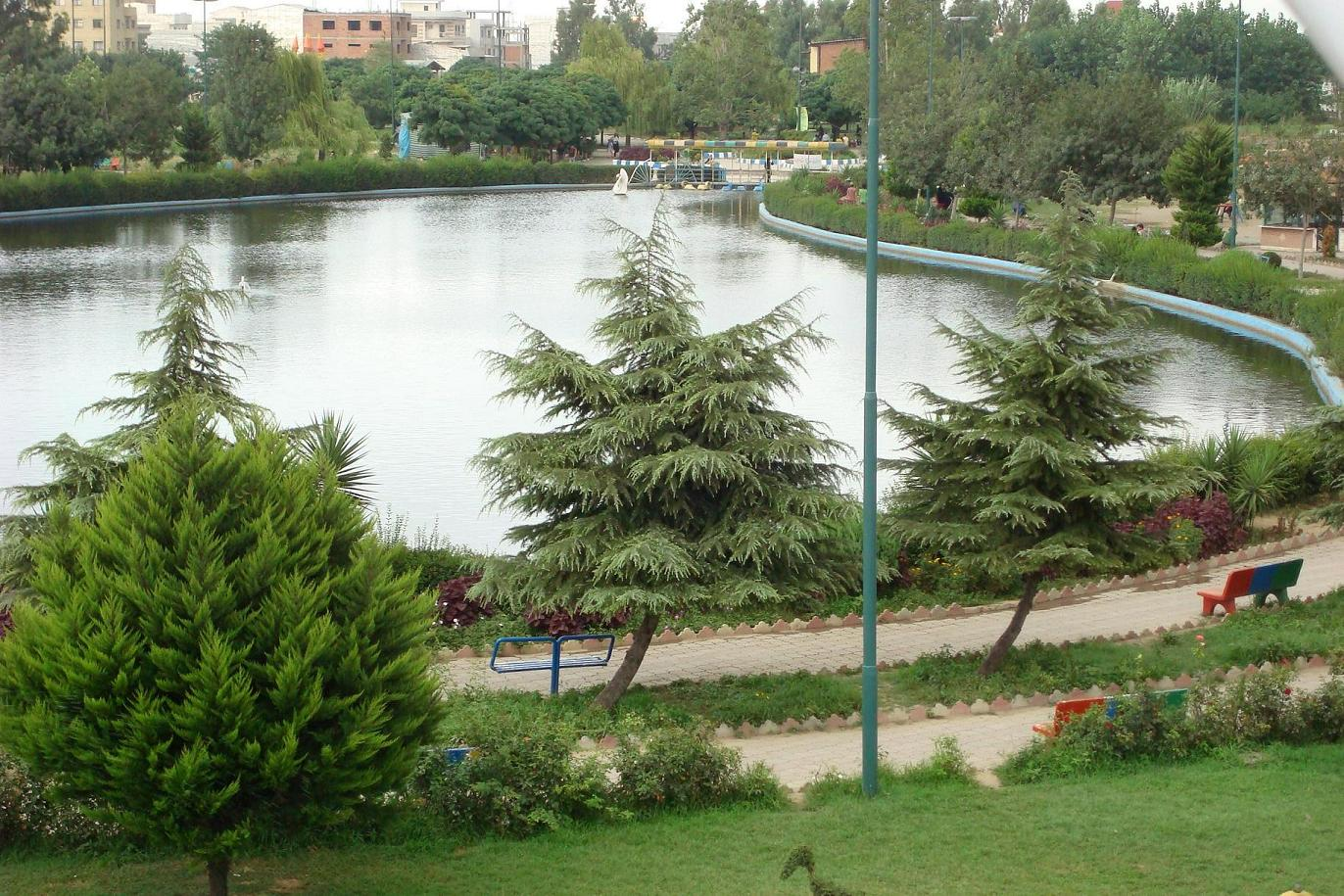 Image result for عکس شهر بابل پارک نوشیروانی